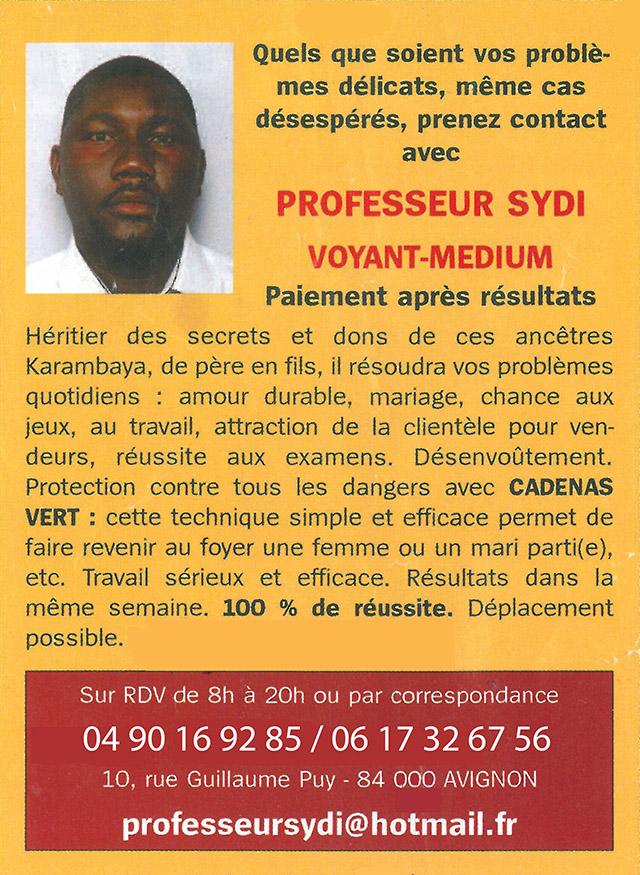 f343d548bf6f16 Voyant Marabout   Professeur SYDI